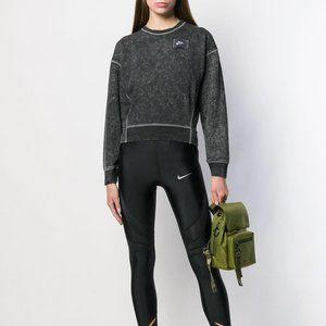 NIKE Stonewash cropped sweatshirt